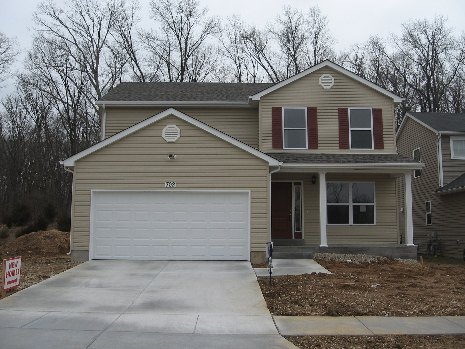 NEW CONSTRUCTION HOME IN HERCULANEUM, MO.