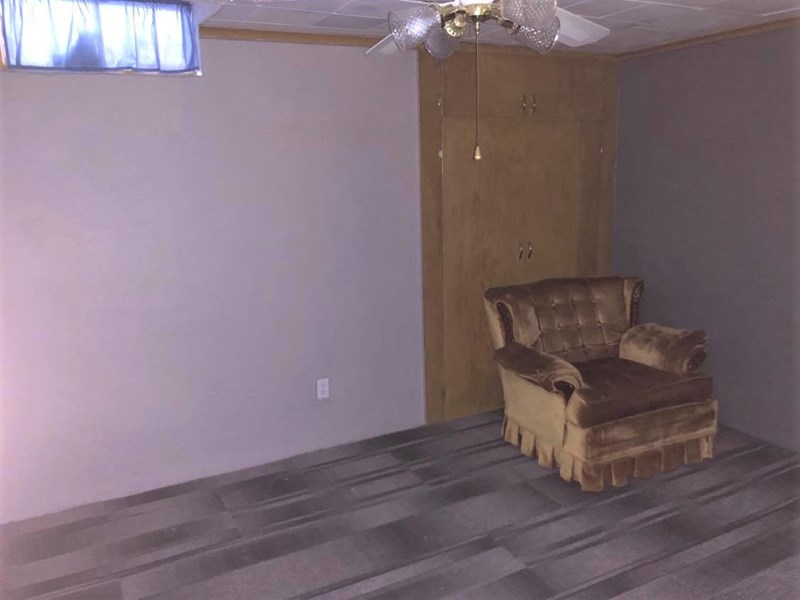 1 of 2 Bedrooms in Basement