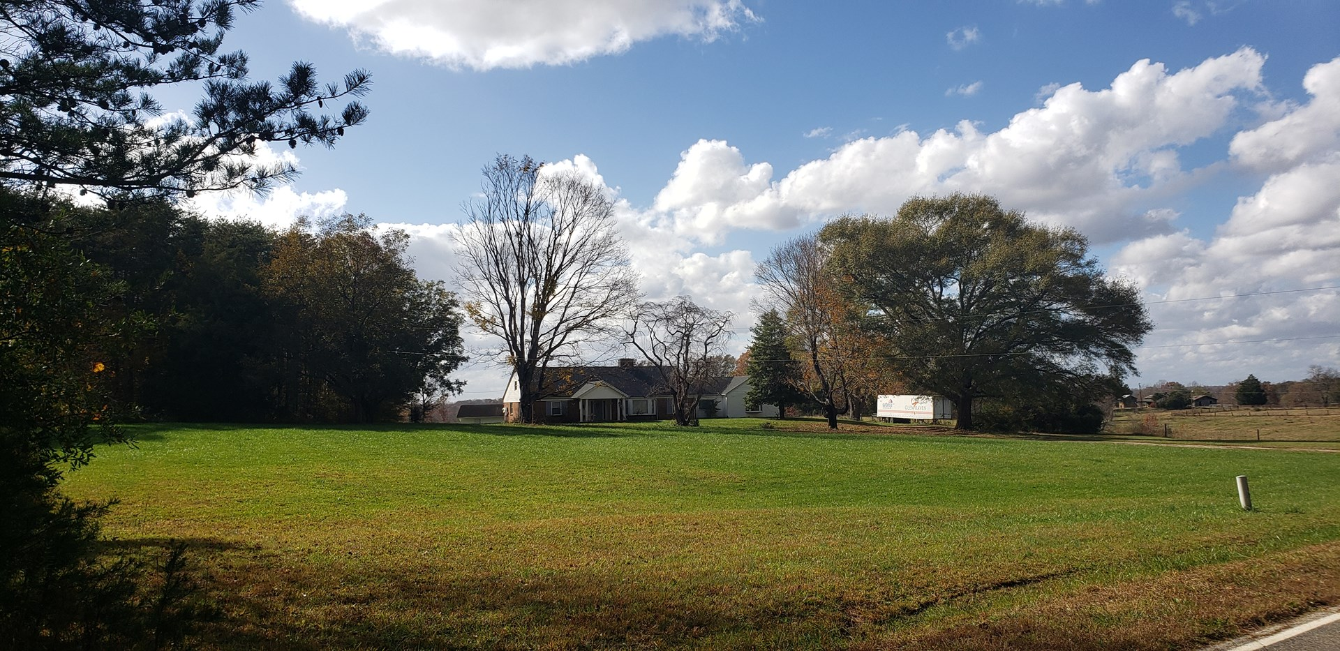 +-300 acres of blanket of possibilities in North Carolina