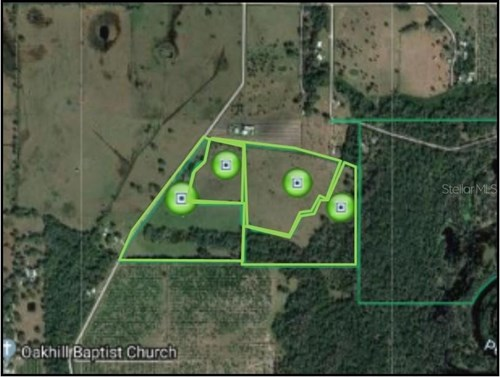67 acres of fenced land with small 2 br 1 ba home!