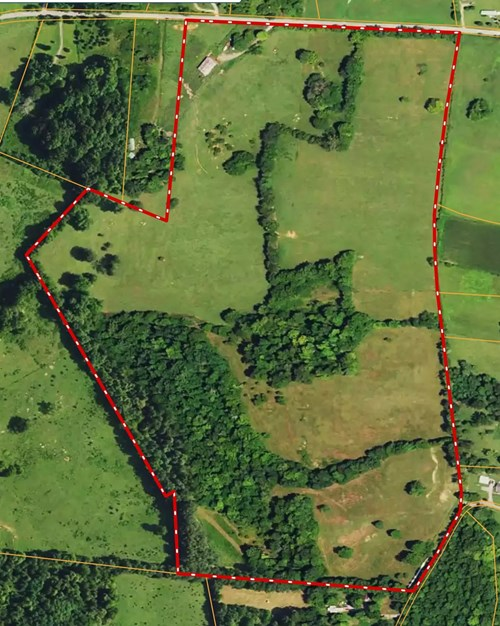 Operating Cattle Farm, Fronts on 2 Paved Roads