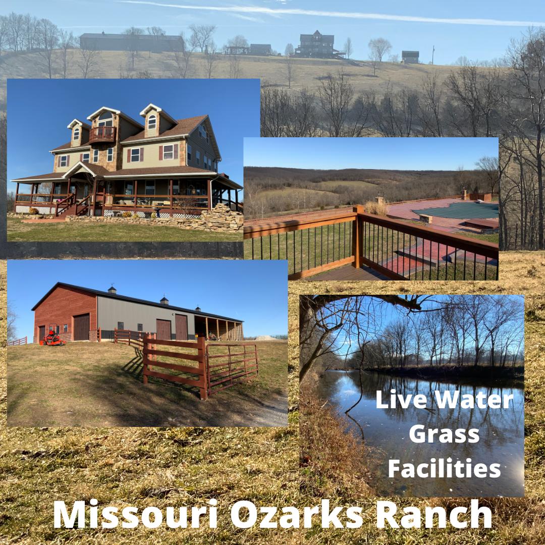 Southern Missouri Ranch for Sale