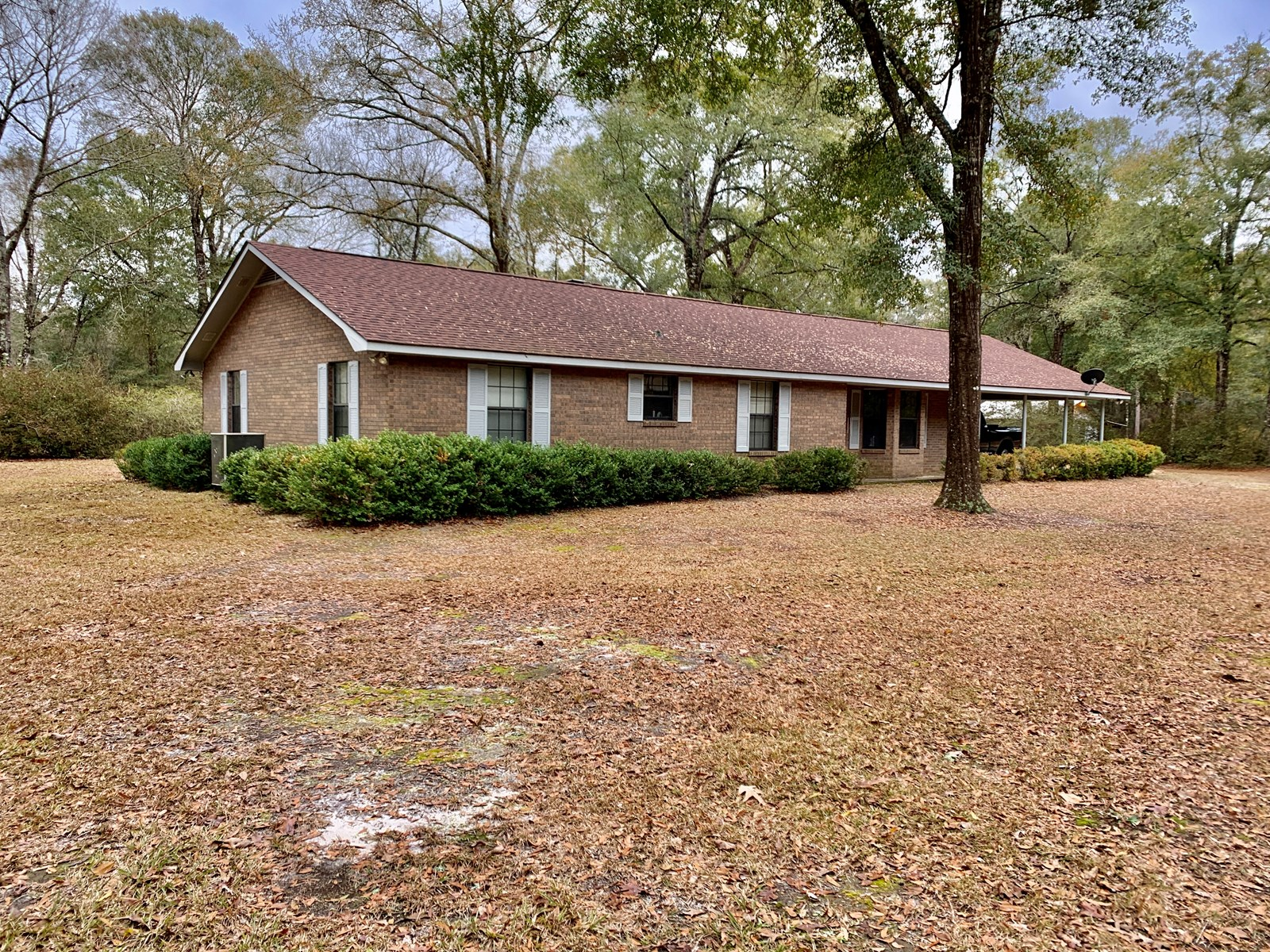 Secluded Country Home & Land For Sale Kinston Alabama