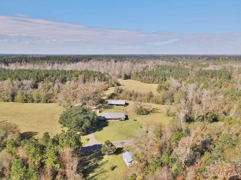 3 Bed/2 Bath Country Home 70 Acres for Sale Bogue Chitto MS