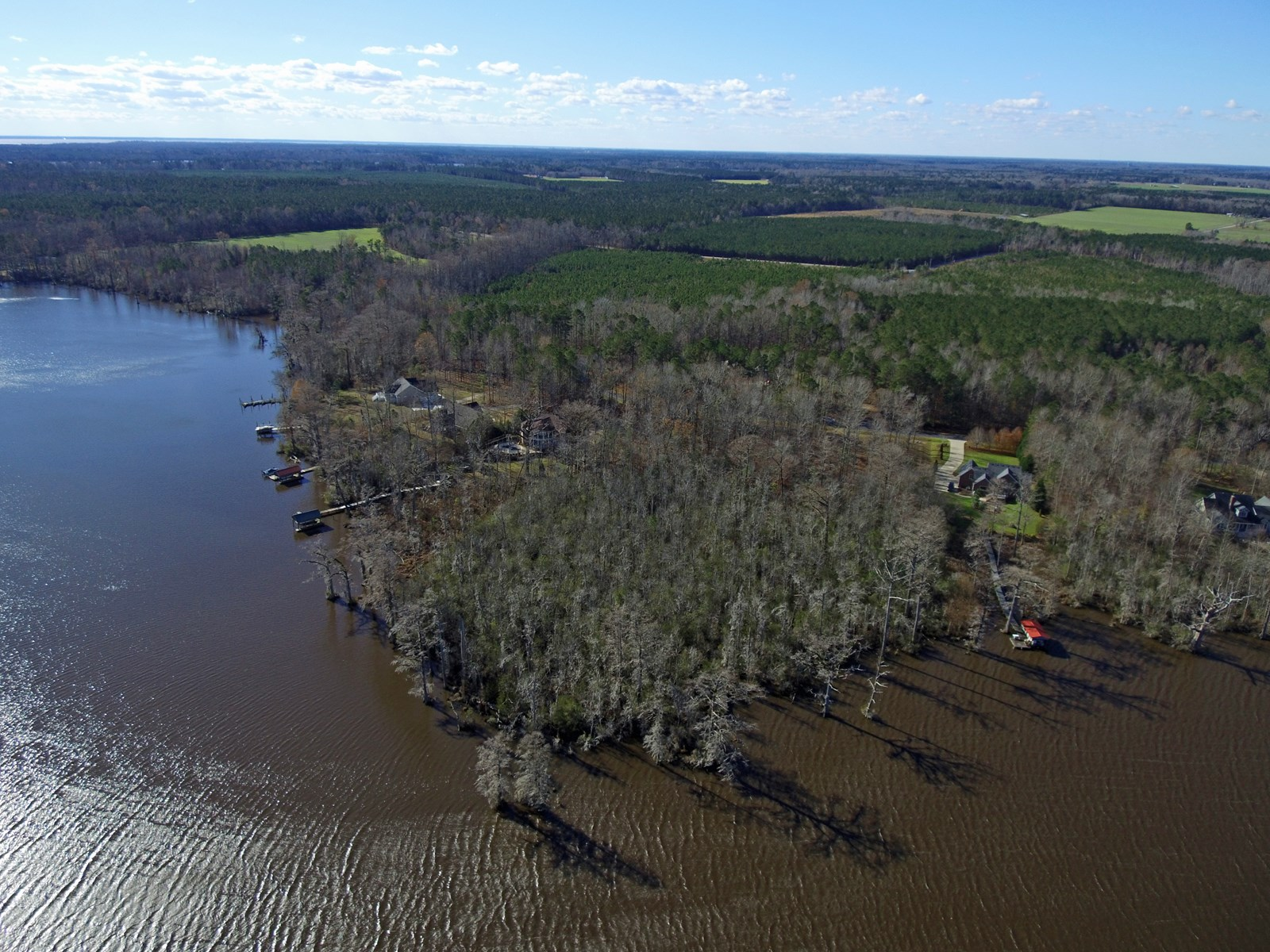 PERQUIMANS COUNTY WATERFRONT LOT FOR SALE