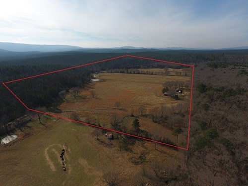 80 Acre Blackfork River Ranch and Home