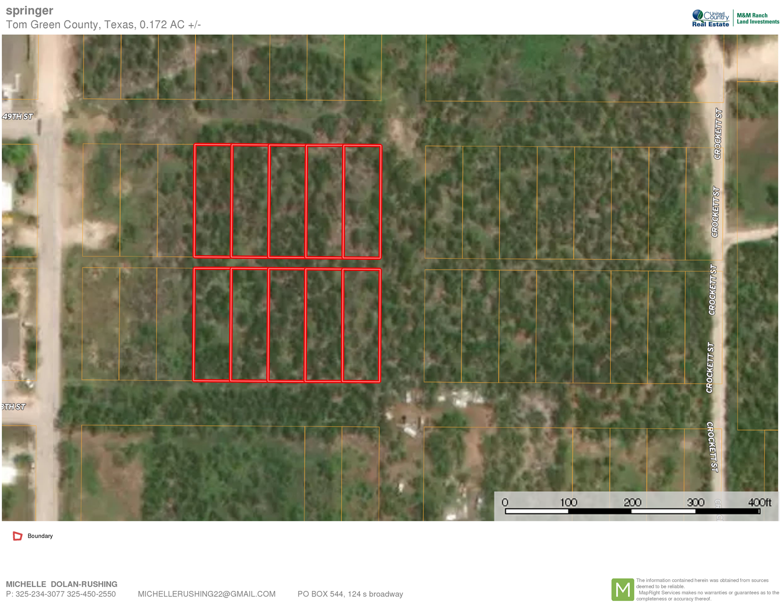 Residential Lots in Tom Green County for sale