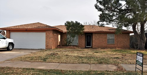 Brick Home - On-Line Auction - Fort Sill  Lawton Oklahoma