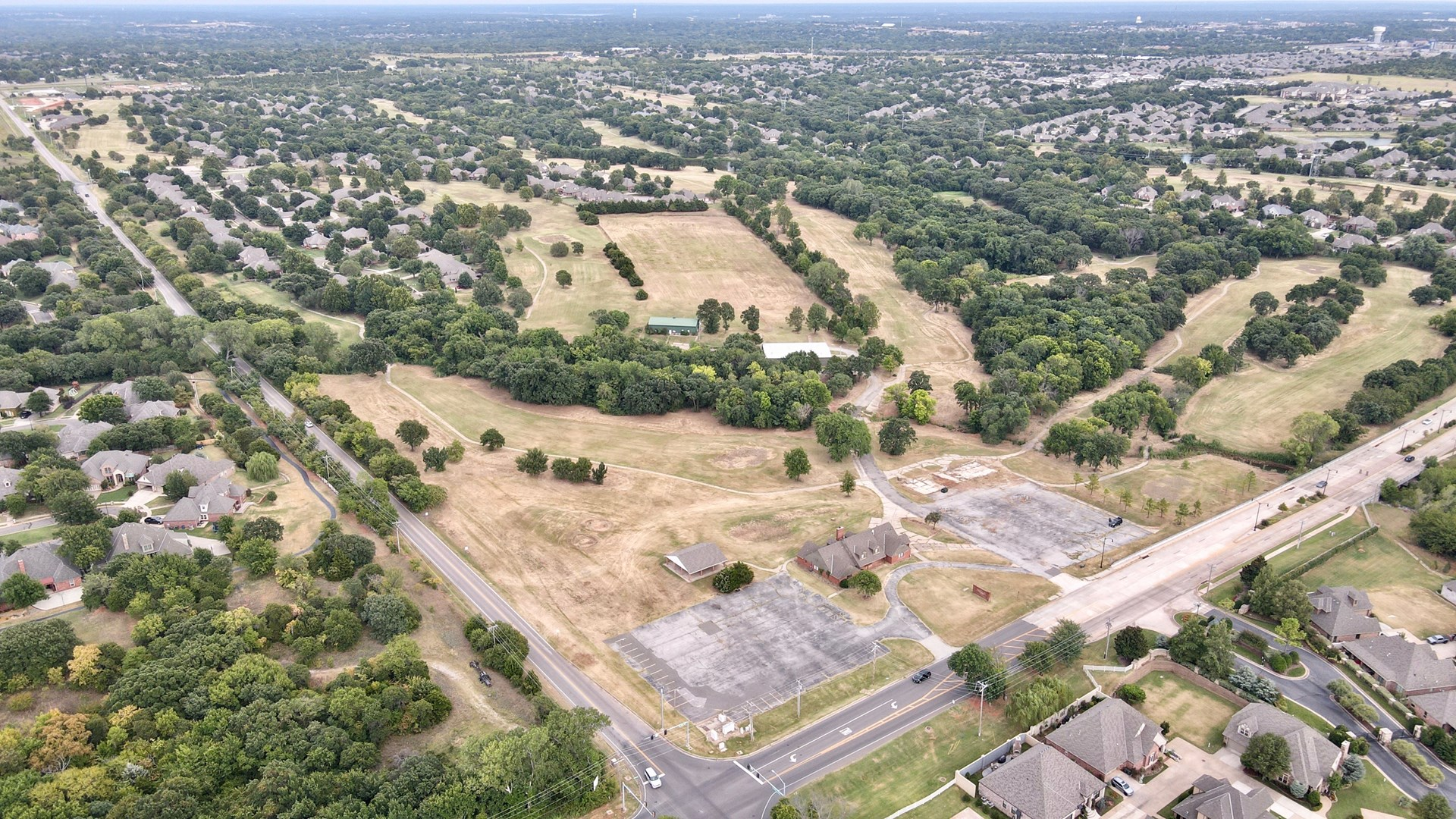 EDMOND COMMERCIAL LAND FOR SALE CORNER LOT OKLAHOMA PUD