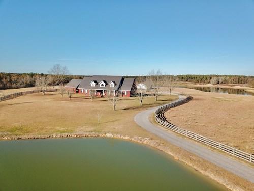 Alabama Cattle Farm & Luxury Home For Sale - David Miller UC
