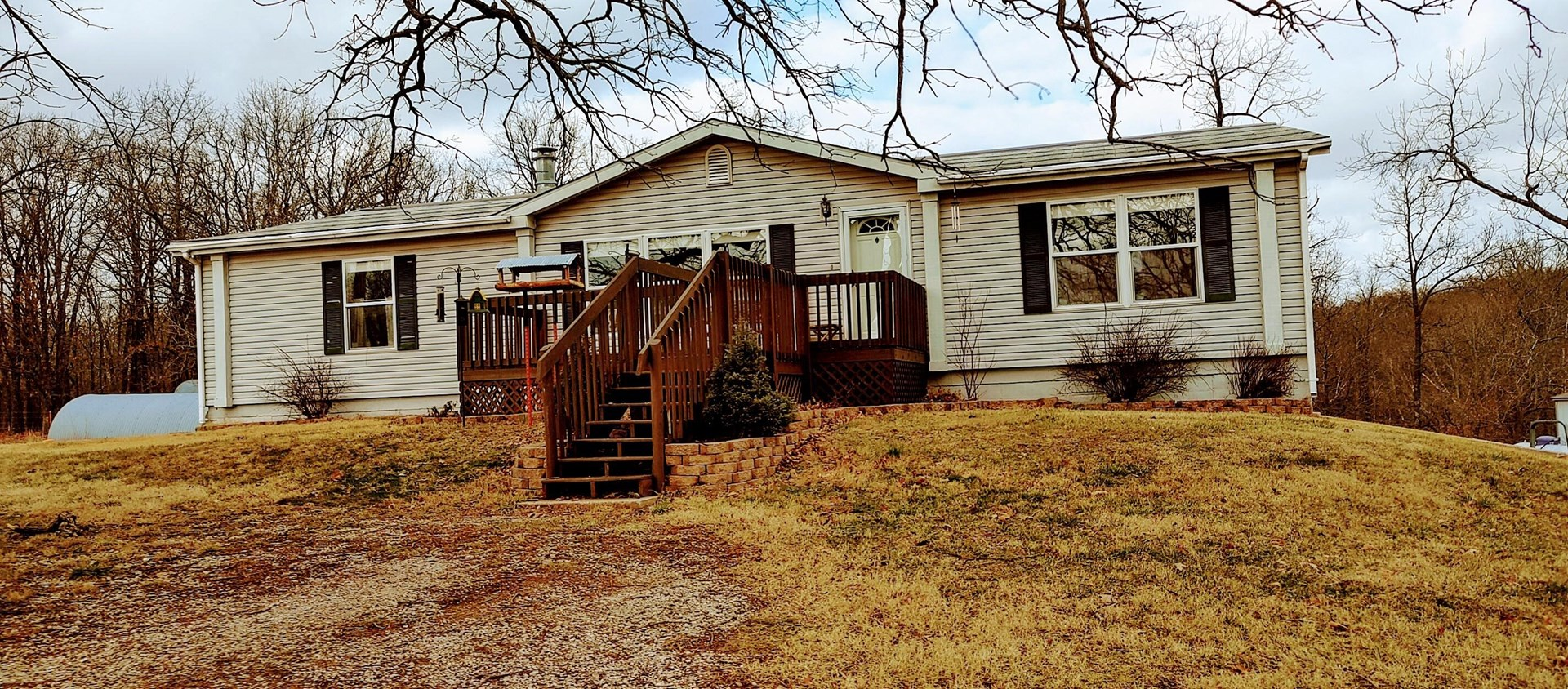 Updated Country Home on Small Acreage, Fenced with a View
