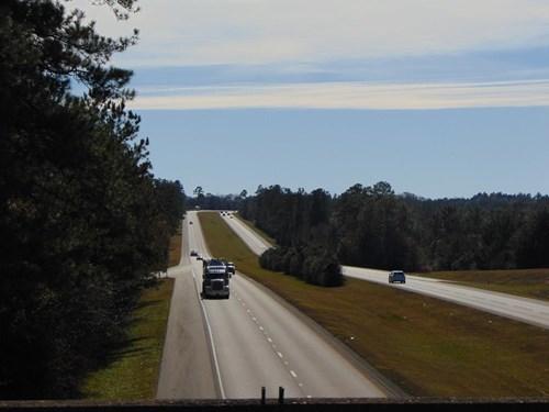 Commercial Land For Sale on I-59 Poplarville Mississippi