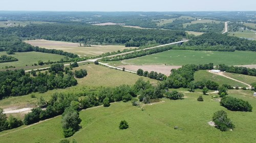 Ozarks Farm with Riverfront For Sale in Pulaski County, MO