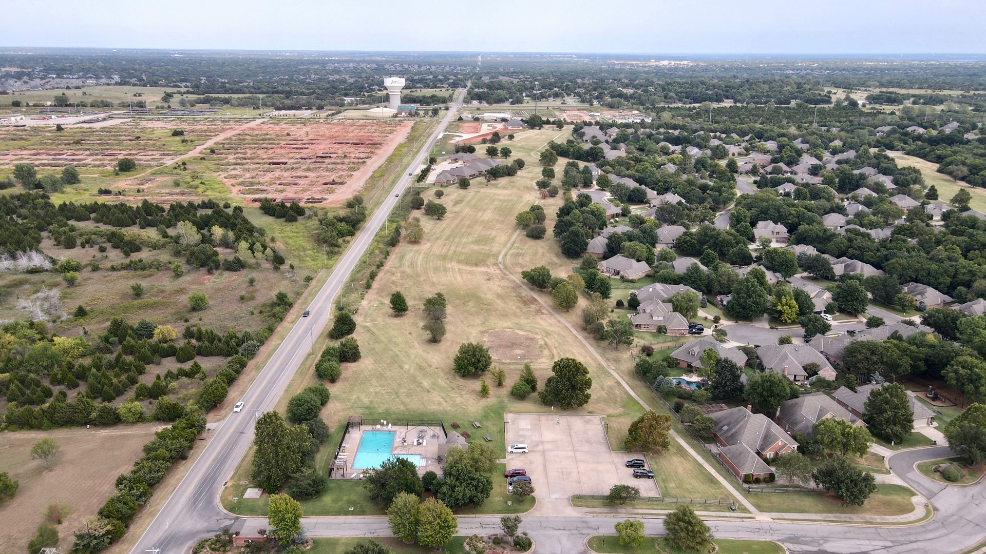 COMMERCIAL LAND FOR SALE RESIDENTIAL DEVELOPMENT EDMOND OKLA