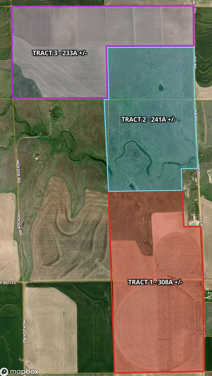 LANE COUNTY, KS FARMLAND SELLING AT INTERNET AUCTION