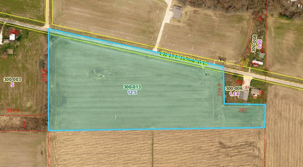 12.5 Tillable Acres Oblong, IL