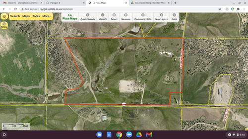 64 acre ranch with irrigation for sale in Southwest Colorado