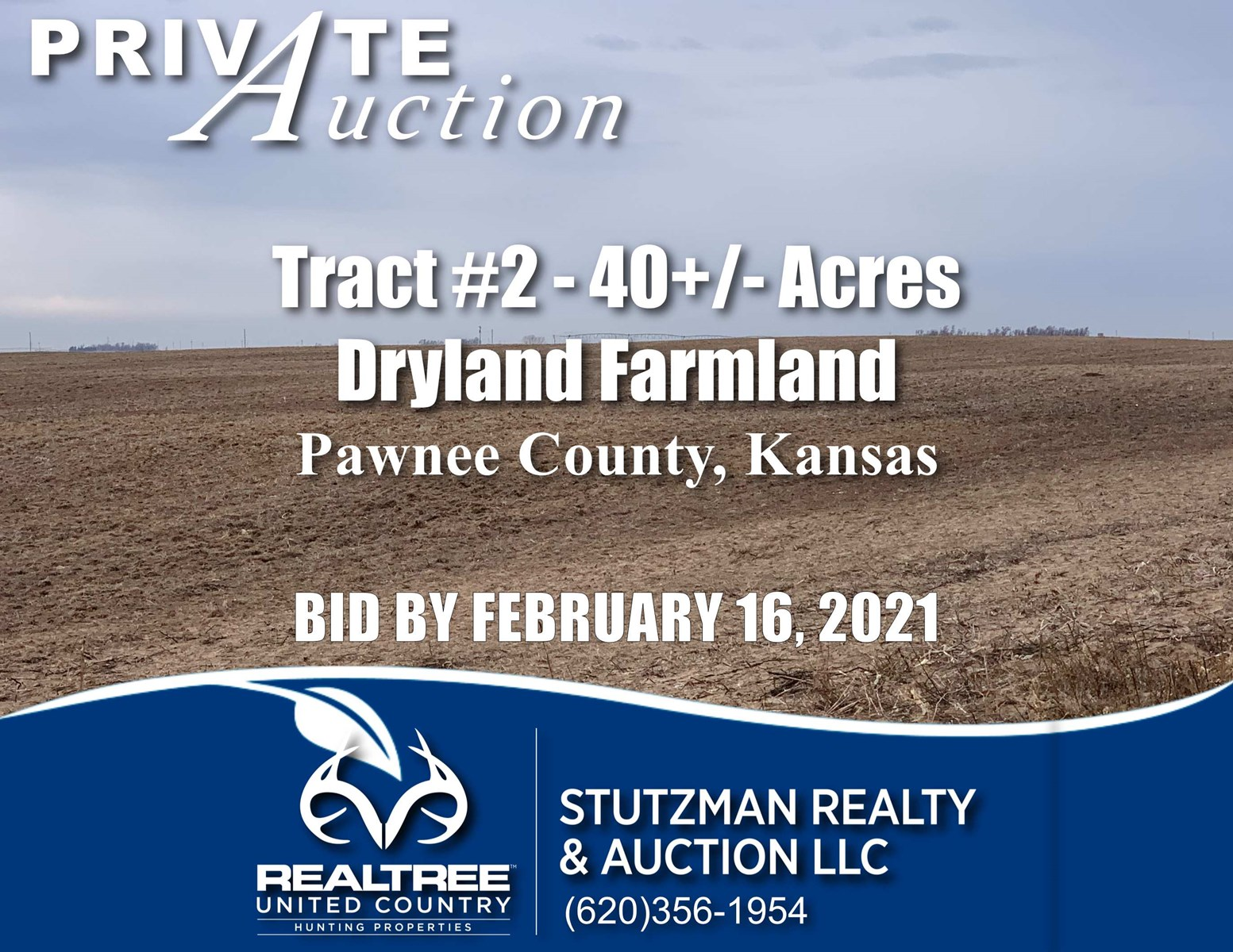 PAWNEE COUNTY KANSAS ~ 40+/- ACRE FARM ~ TR#2