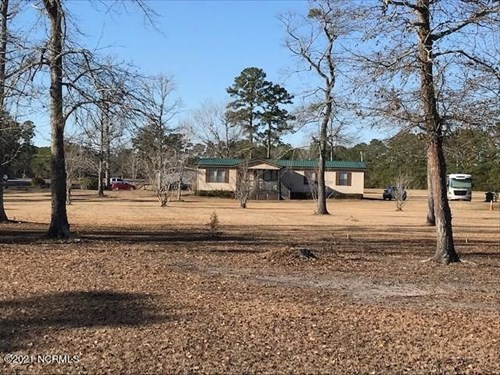 Two 3 BR Houses For Sale in Holly Ridge On 8 Acres