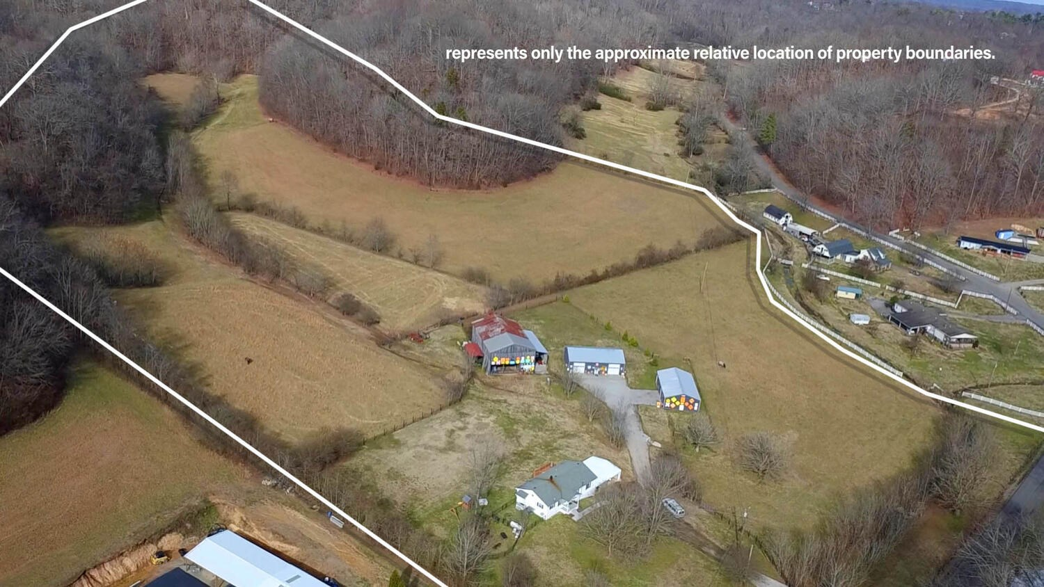 46 Acre Horse Property Country Cottage for sale in Middle TN