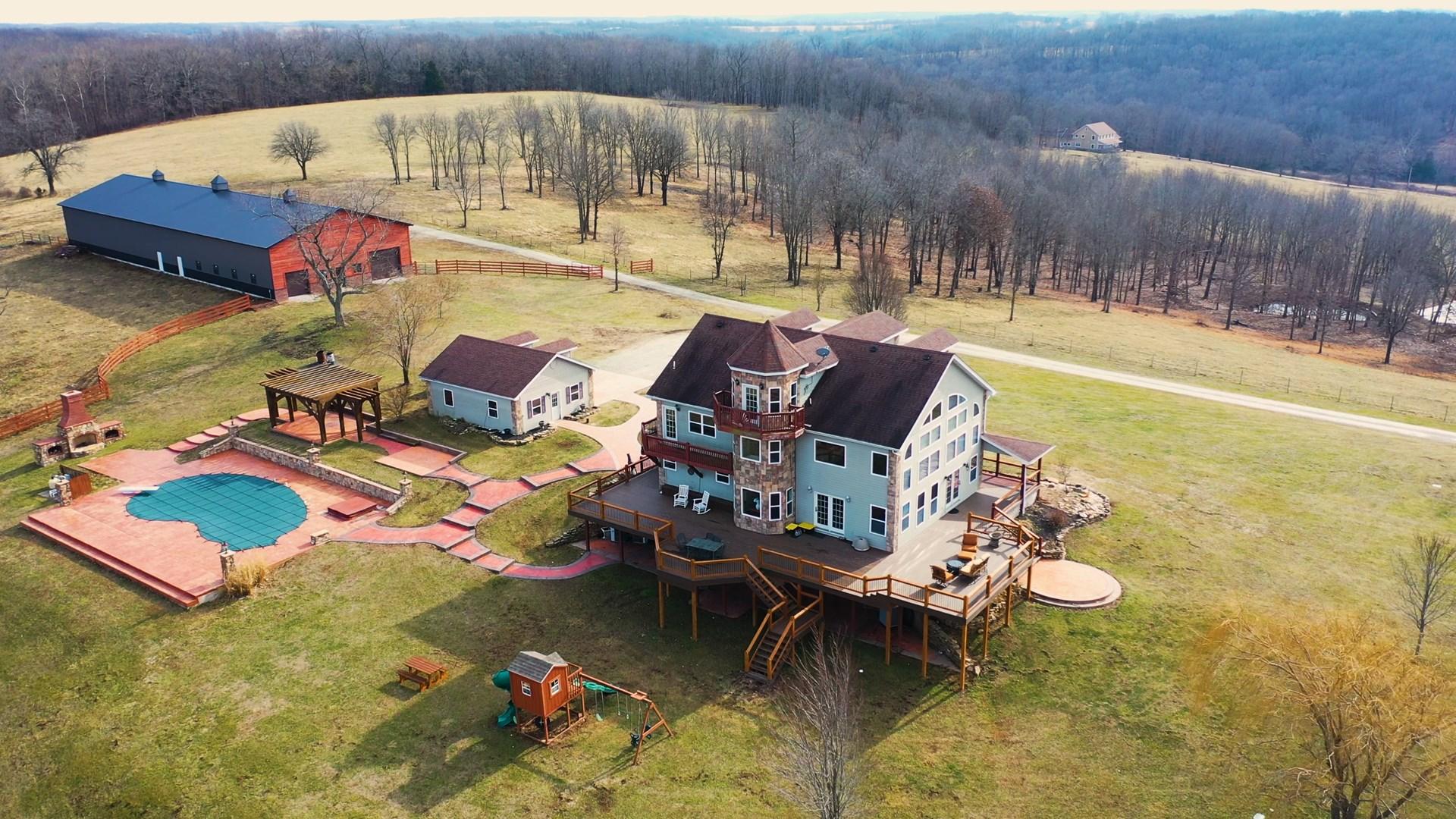 Southern Missouri Executive Home for Sale