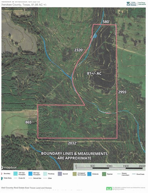 East Texas Hunting/Recreational Land For Sale