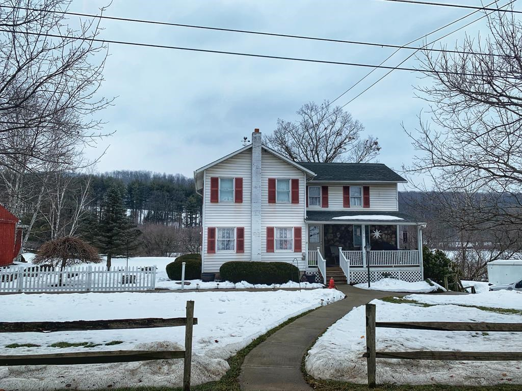 Home with Commercial Store for Sale
