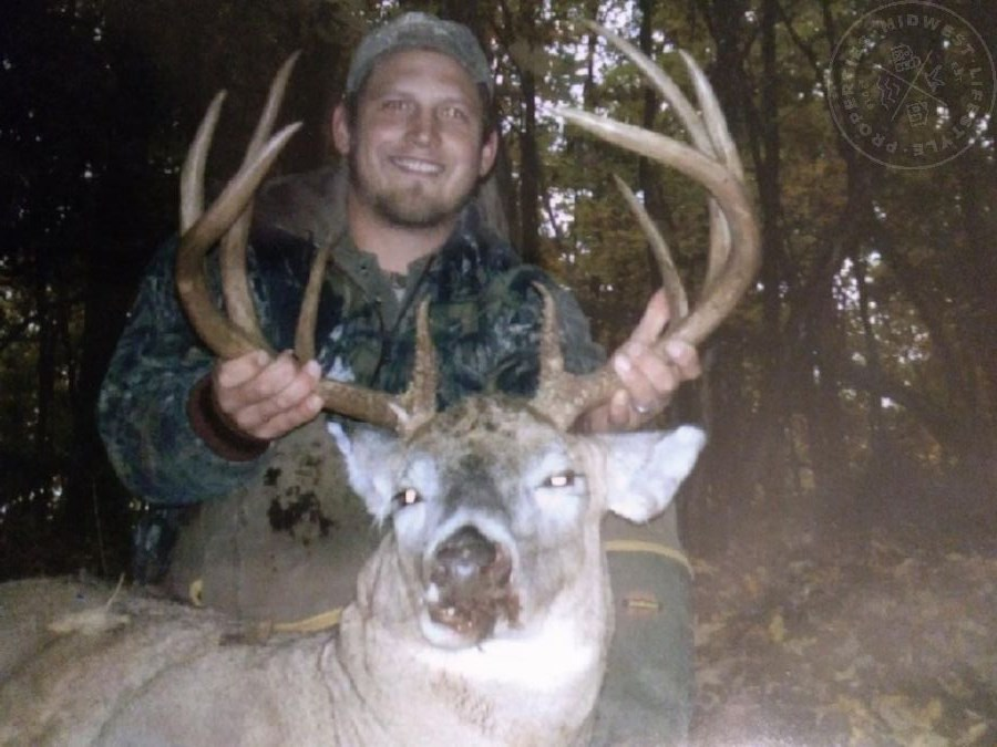 Deer Hunting Camp in Richland County, WI