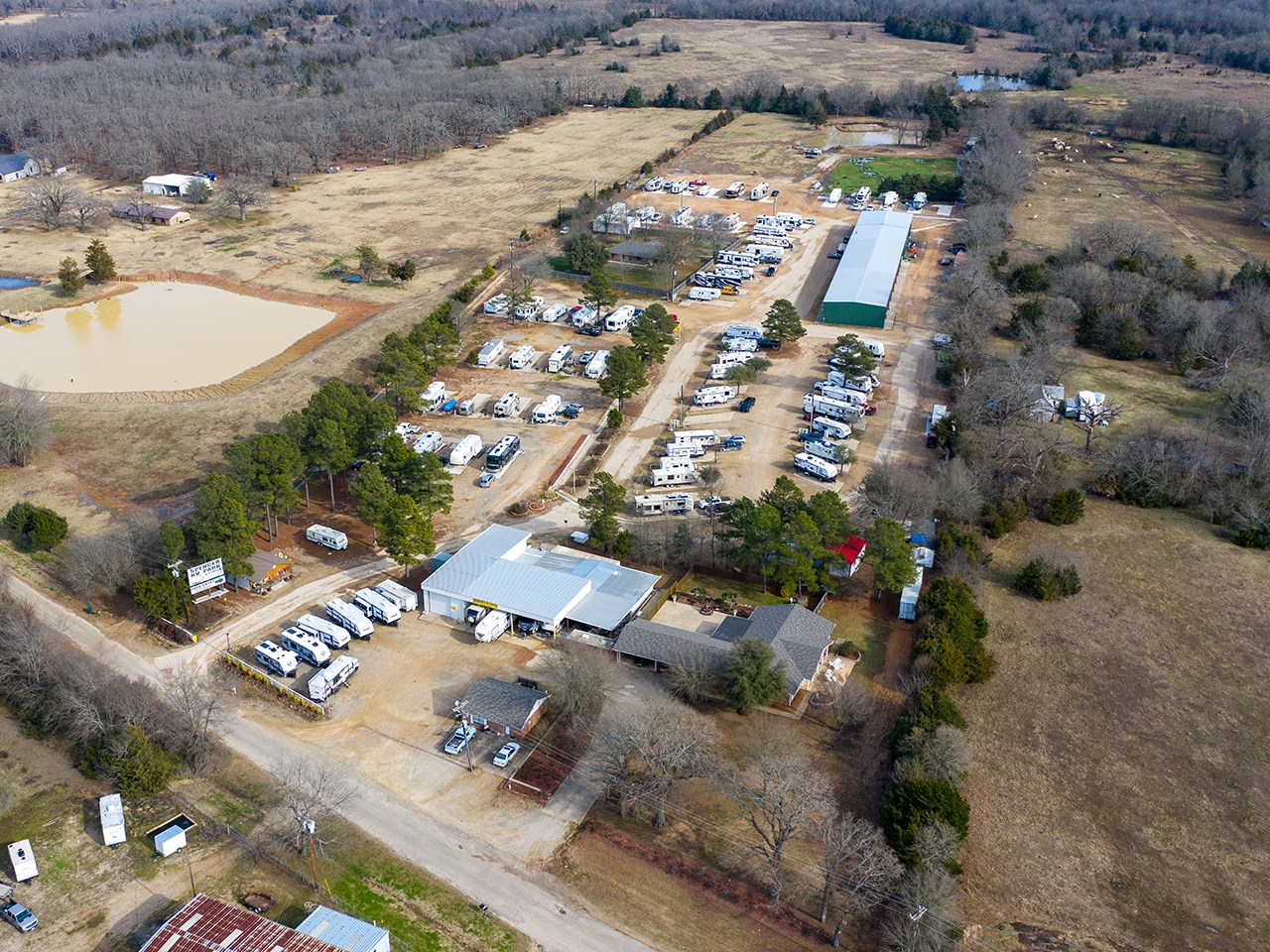 RV Park Investment Business For Sale Located In Paris Texas