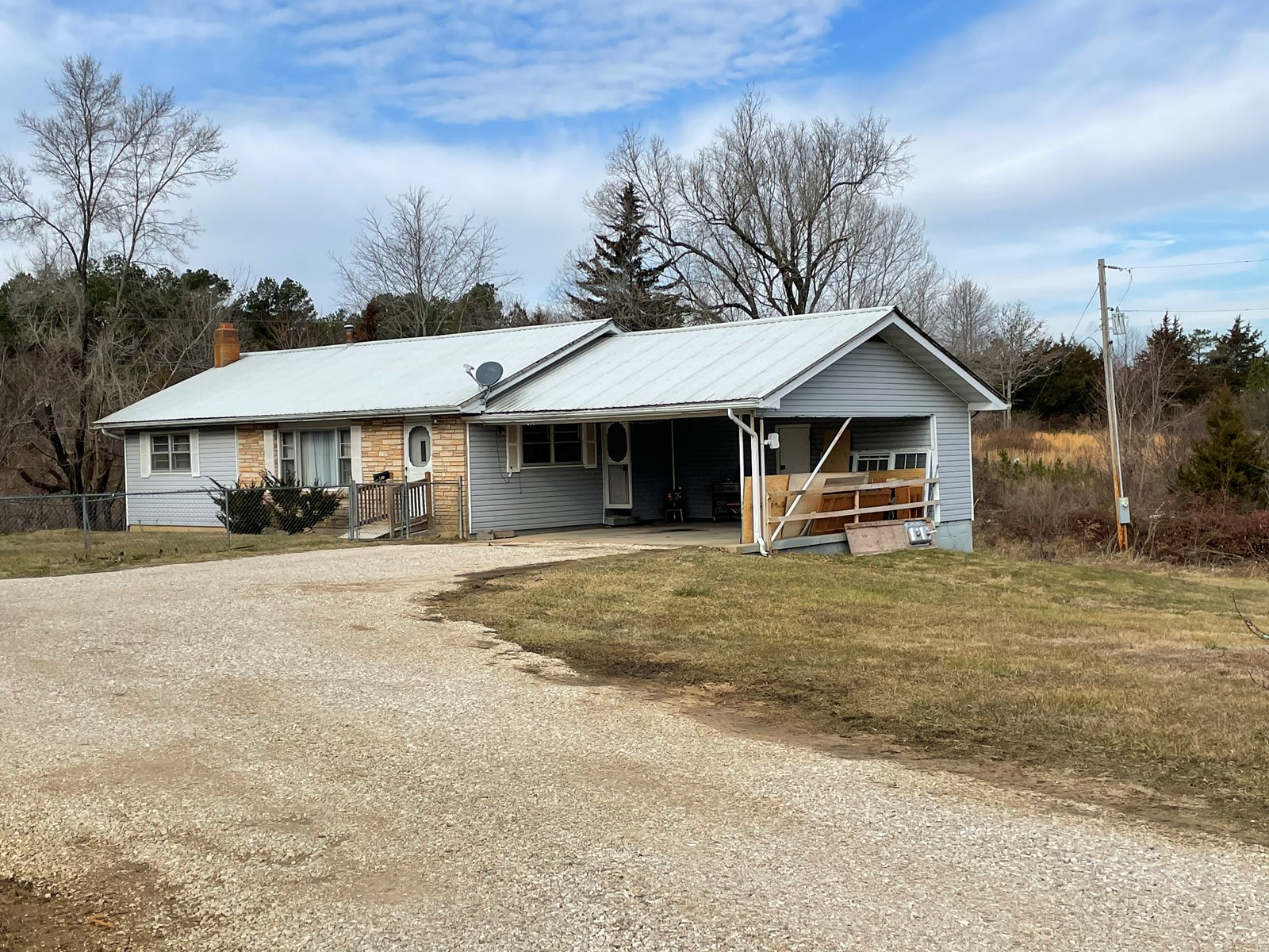 3 BEDROOM 1 BATH RANCHER FOR SALE IN WINONA MO-SHANNON CO