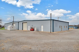 COMMERCIAL PROPERTY ON LAND OUTSIDE CITY LIMITS