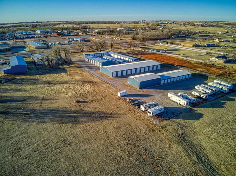 Available acreage for more storage options