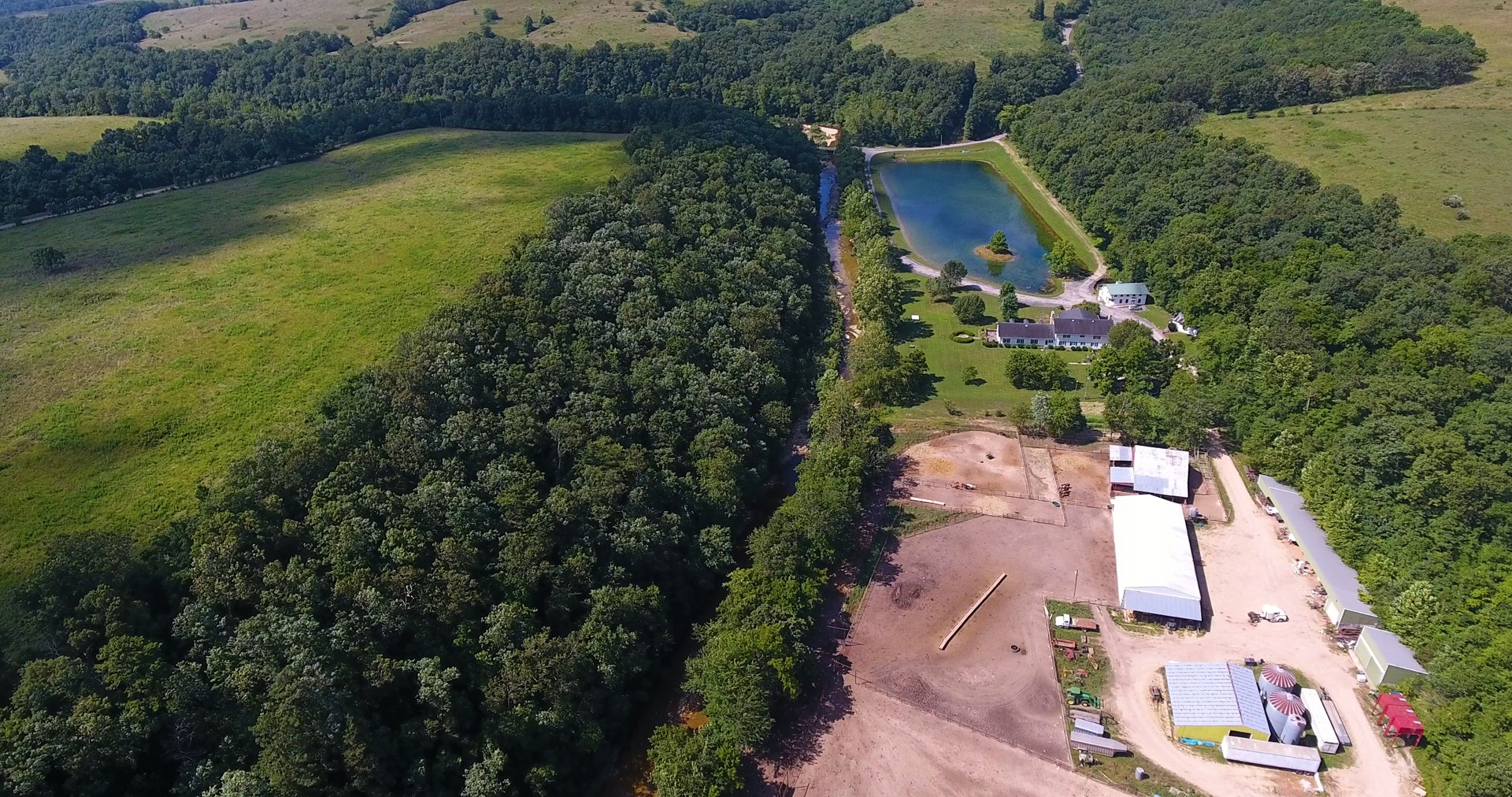 Ranch for sale with Artesian Wells, Private Lake, & Springs