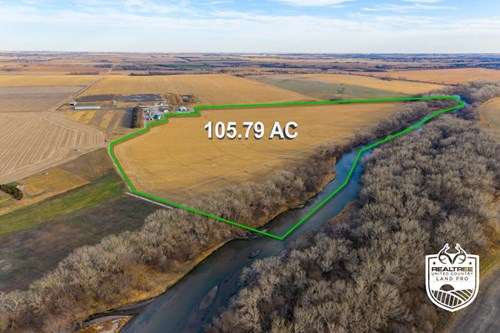 Republic County KS Irrigated Farmland & Hunting Land Auction