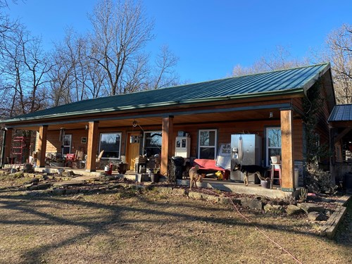 Country Home with Acreage For Sale-Huntsville, Arkansas