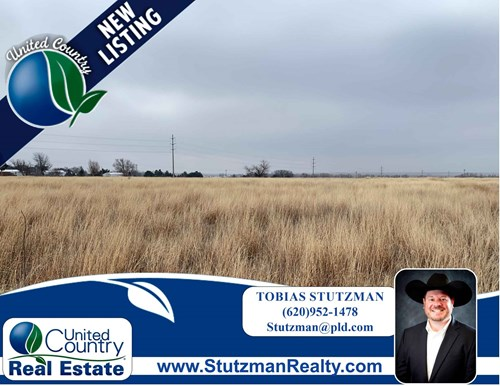 ULYSSES KS ~ 5.7 ACRES ~ WITHIN CITY LIMITS ~ GRANT COUNTY