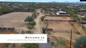 10 ACRE CAVE CREEK AZ HORSE PROPERTY FOR SALE AT AUCTION