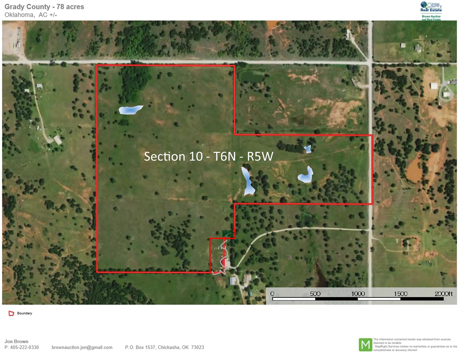 Land For Sale - Grady County Oklahoma - Ranch - Hunting