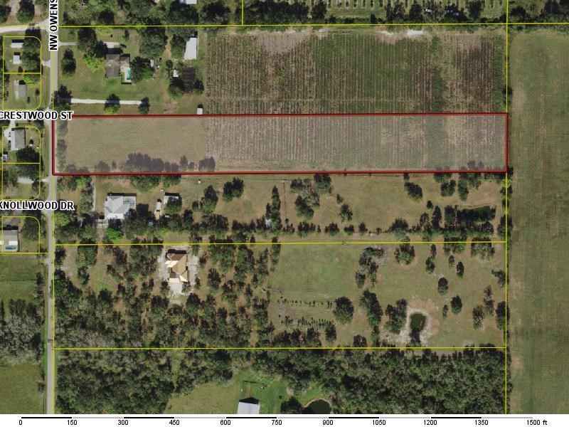 5 acres of vacant land for sale in Desoto County.