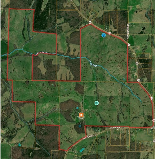 Southern Missouri Cattle Ranch for Sale