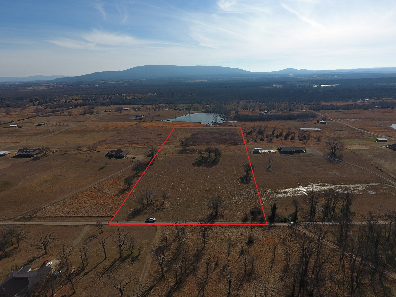 10 Acre Homesite with Scenic Mountain View - Rocky Creek Est