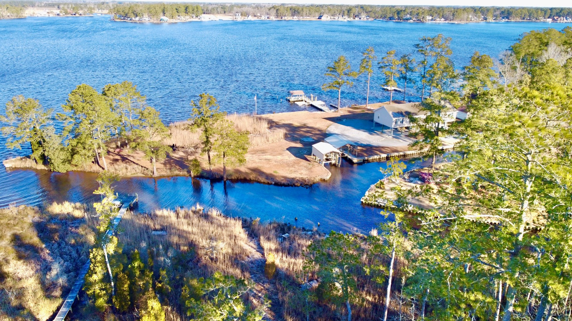 Waterfront Property for Sale in Belhaven North Carolina