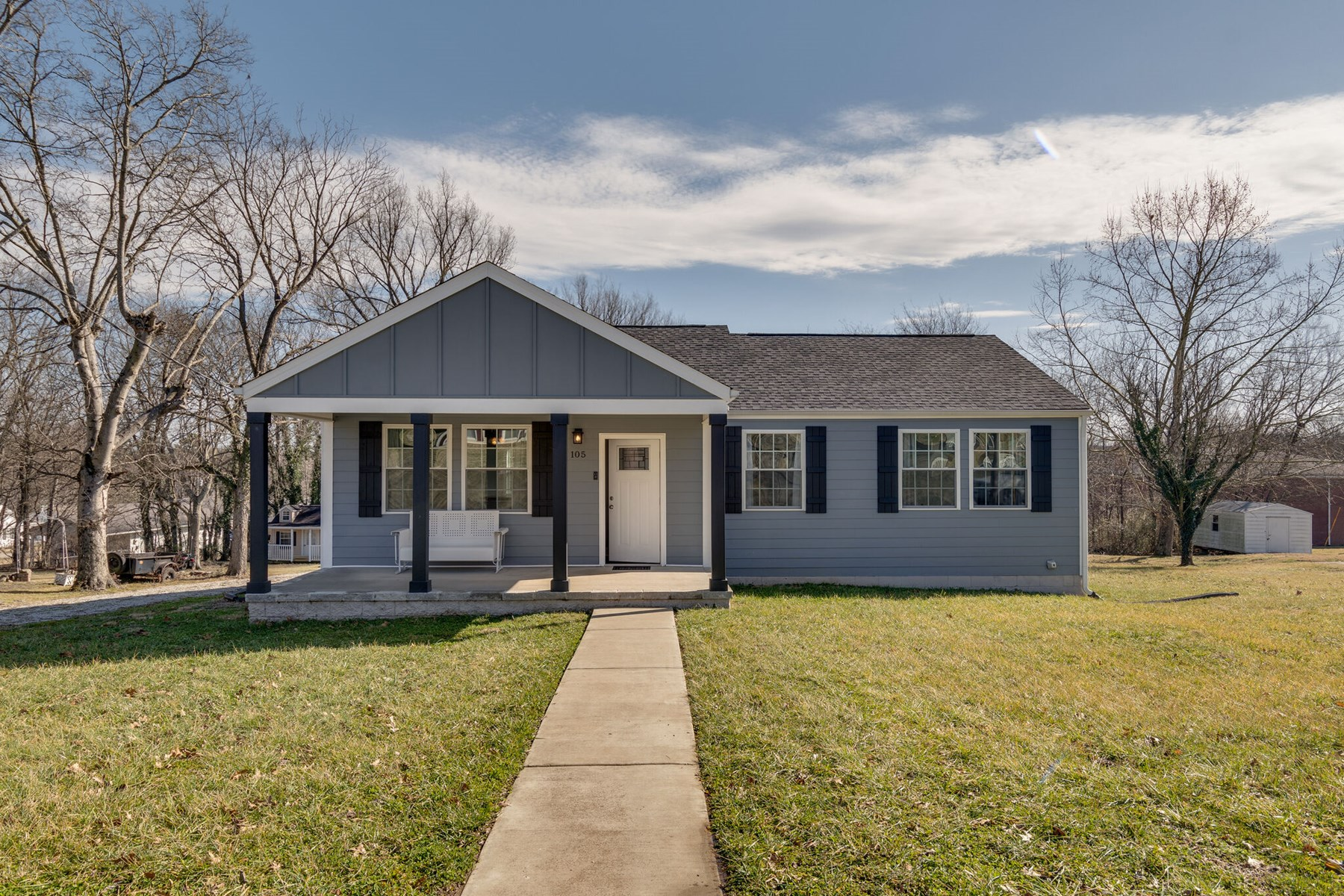 Home in Town for Sale in Mountt. Pleasant, Tennessee