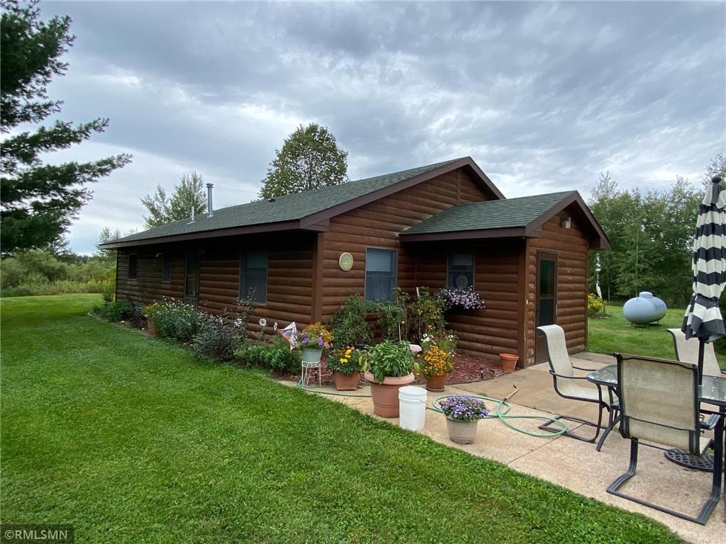 Country Home for Sale with Acreage near Lake in Northern MN