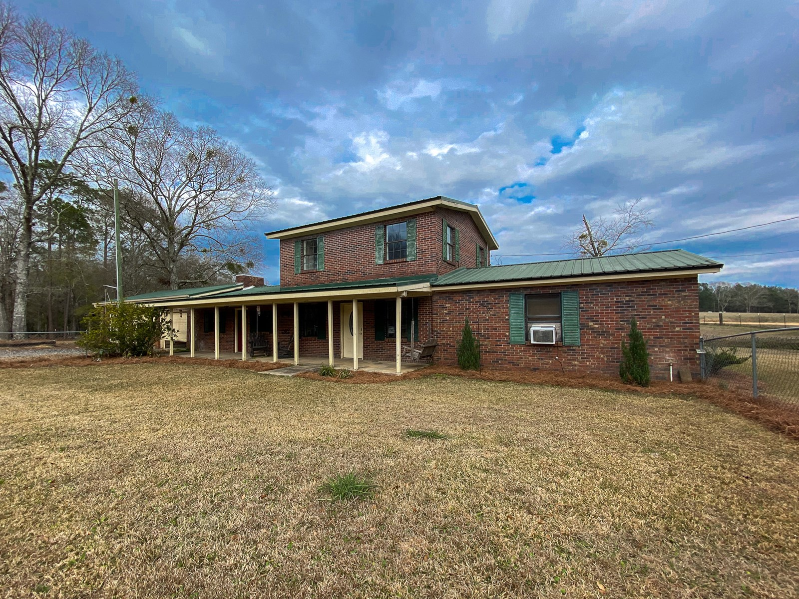 Home in Country w/ Land, Pond & Room for Horses Samson, AL