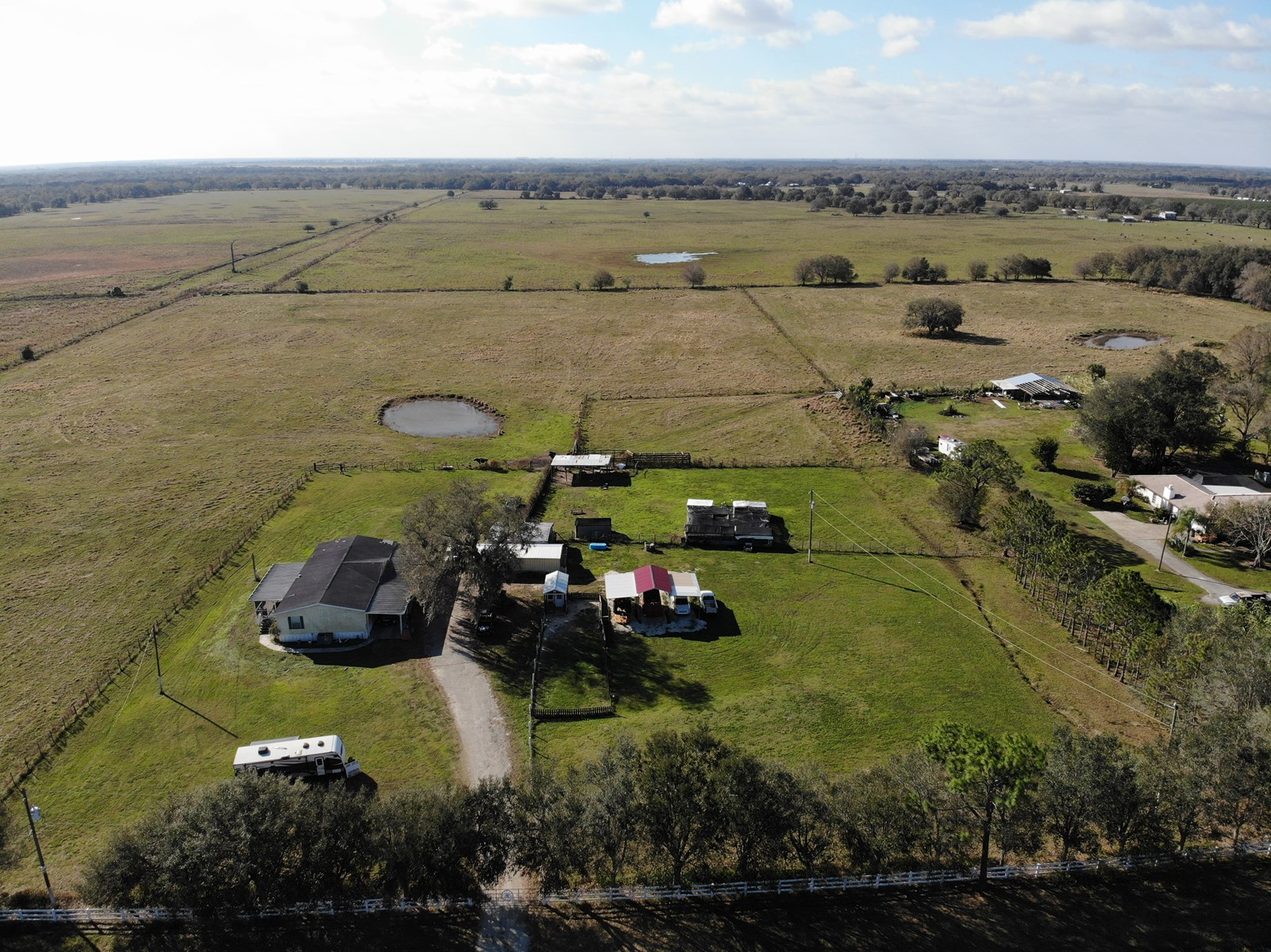 26+ Acre Ranch in Arcadia, Florida with 3 br 2 ba home!