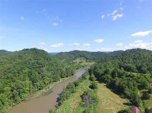 Auction Riverfront Property for Sale Hancock County TN 37869