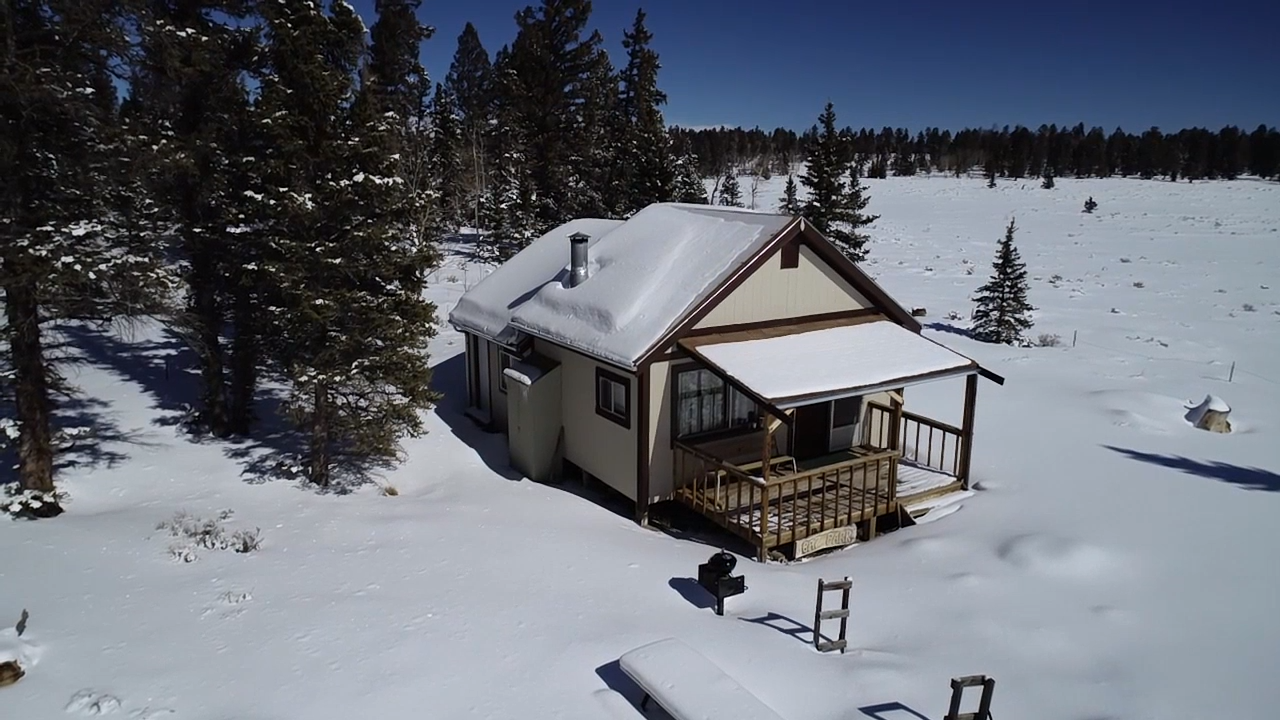 Secluded 40 Acres with Custom Cabin Southwest of Gunnison