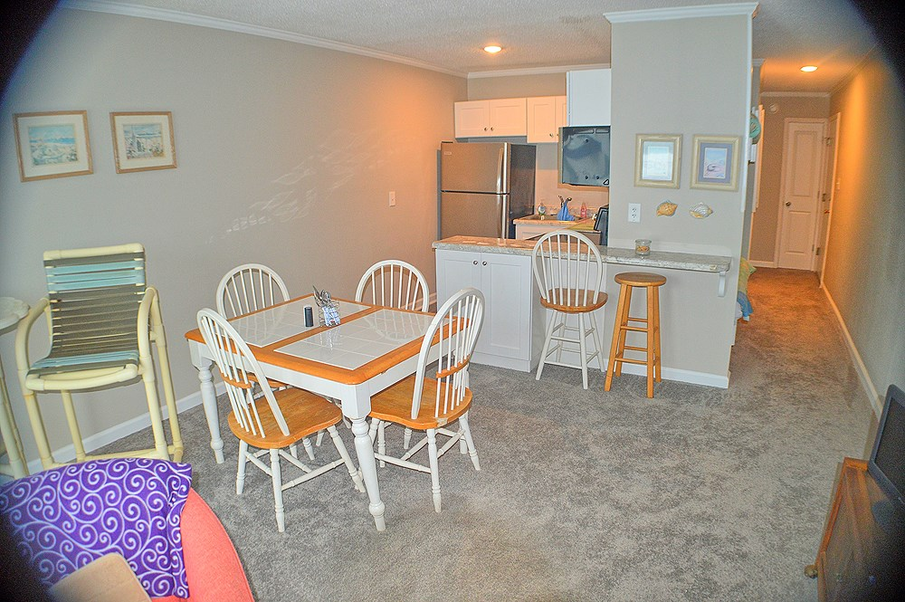 1BR Oceanfront Condo For Sale on North Topsail Beach