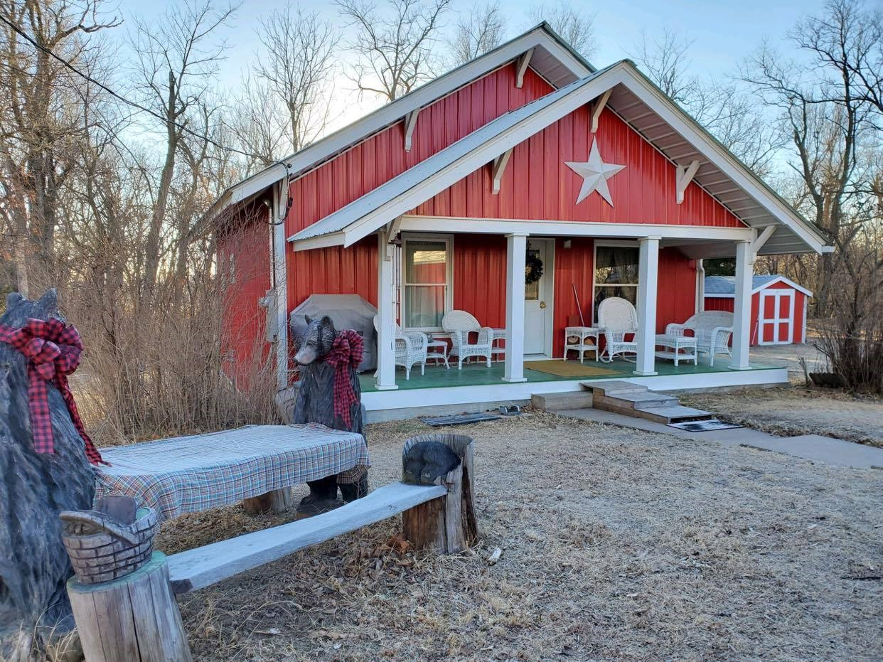 Country Home - Hunting Cabin In Wilmore, KS  For Sale